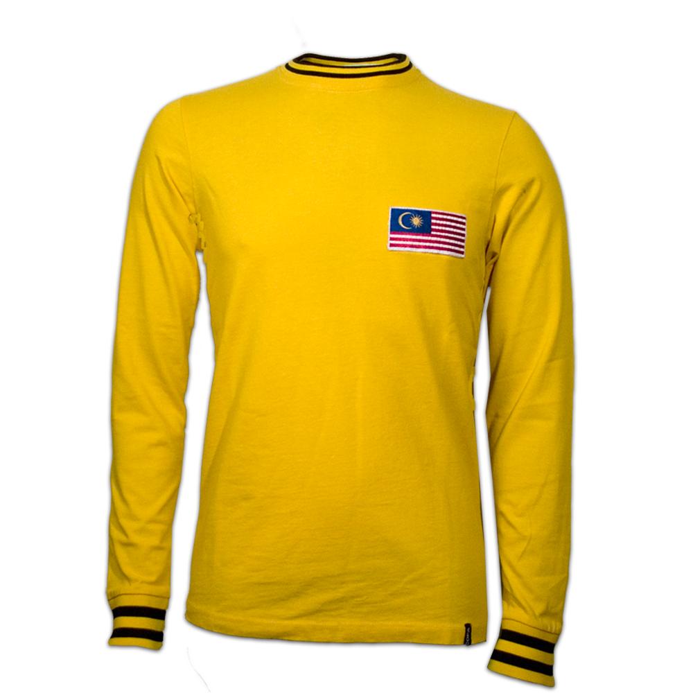 Copa Malaysia 1972 Long Sleeve Retro Shirt