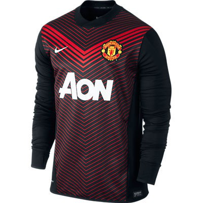 Manchester United training top L/S