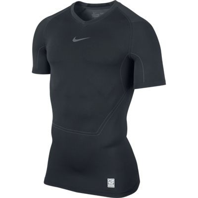 Nike Pro Combat short sleeve top - black