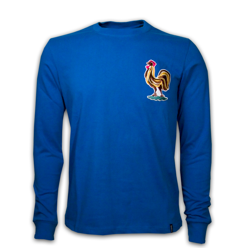 Copa France 1970's Long Sleeve Retro Shirt