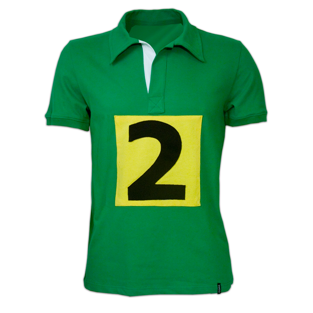 Copa Jamaica 1948 Short Sleeve Retro Shirt