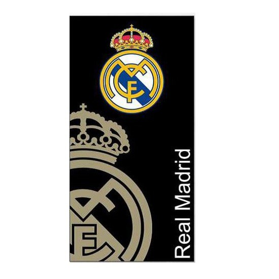Real madrid towel gold
