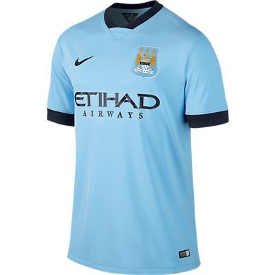 Manchester City home jersey 2014/15
