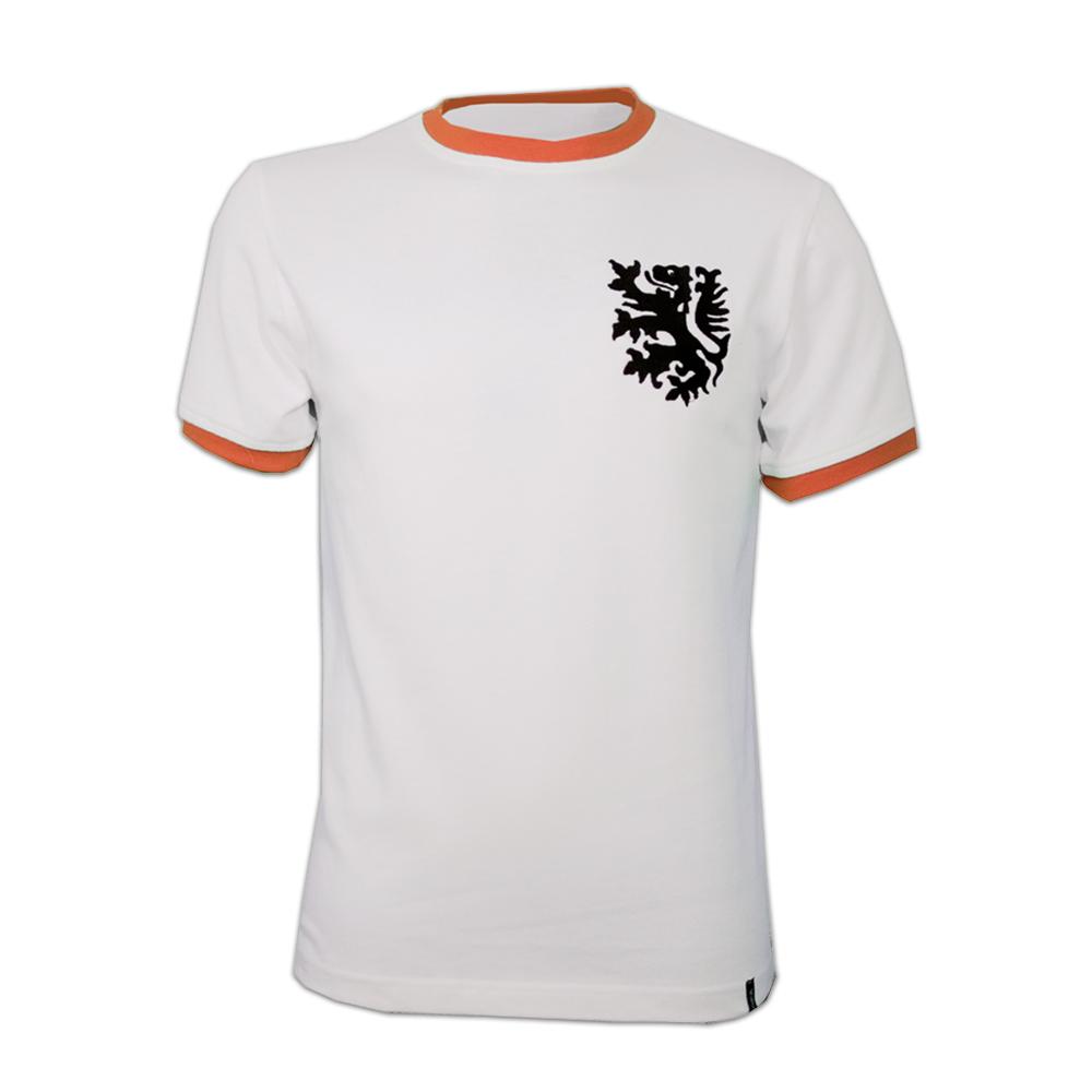 Copa Holland Away 1970's Short Sleeve Retro Shirt