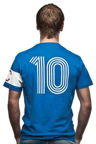 Copa France Capitaine T-Shirt // Blue