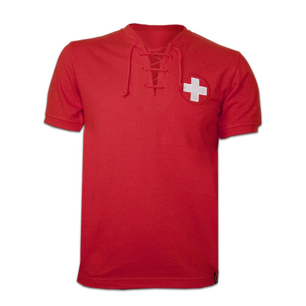 Copa Switzerland Wc 1954 Short Sleeve Retro Shirt