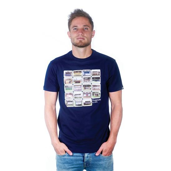 Dugouts T-Shirt Marine Blue 100% cotton