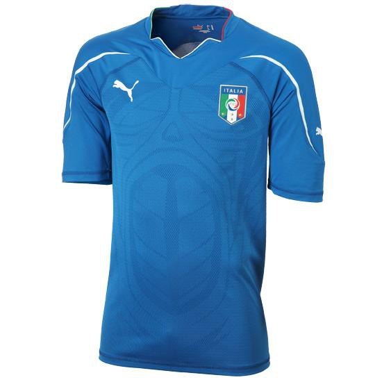 Italy home jersey 2010