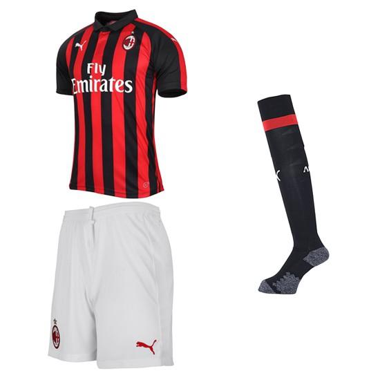 Ac Milan Home Kit 2018 19 Adult Official Printing Higuain 9