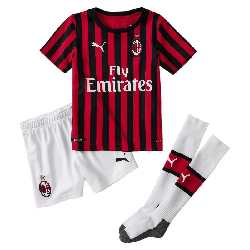 AC Milan home kit - little boys