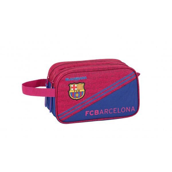 FC Barcelona wash bag - blau grana split
