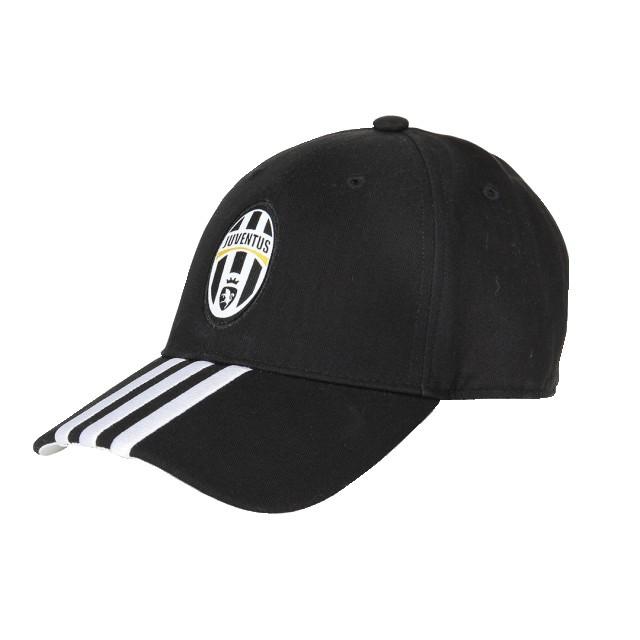 Juventus 3 stripe cap 2015/16 - black