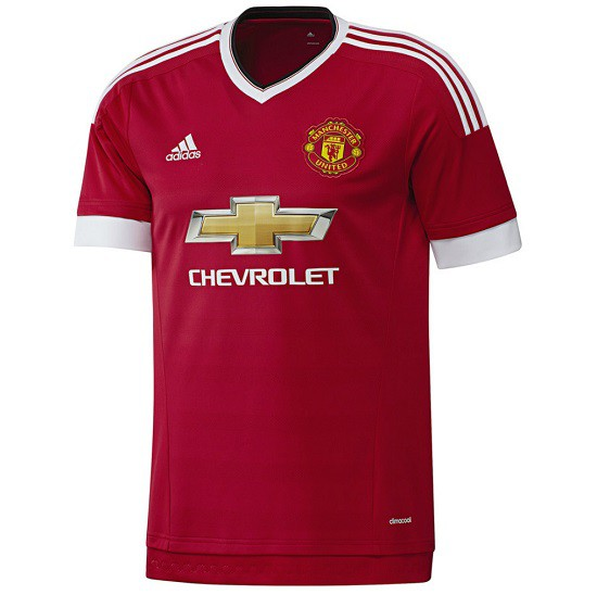 Manchester United hjemme jersey 2015/16 - mens