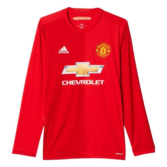Manchester United home jersey L/S 2016/17