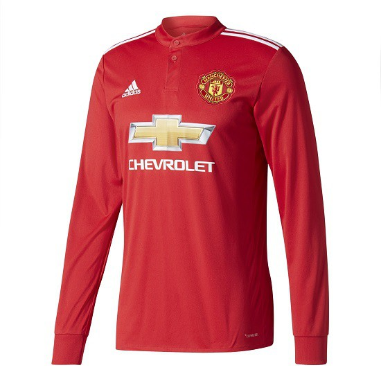Manchester United home jersey L/S 2017/18