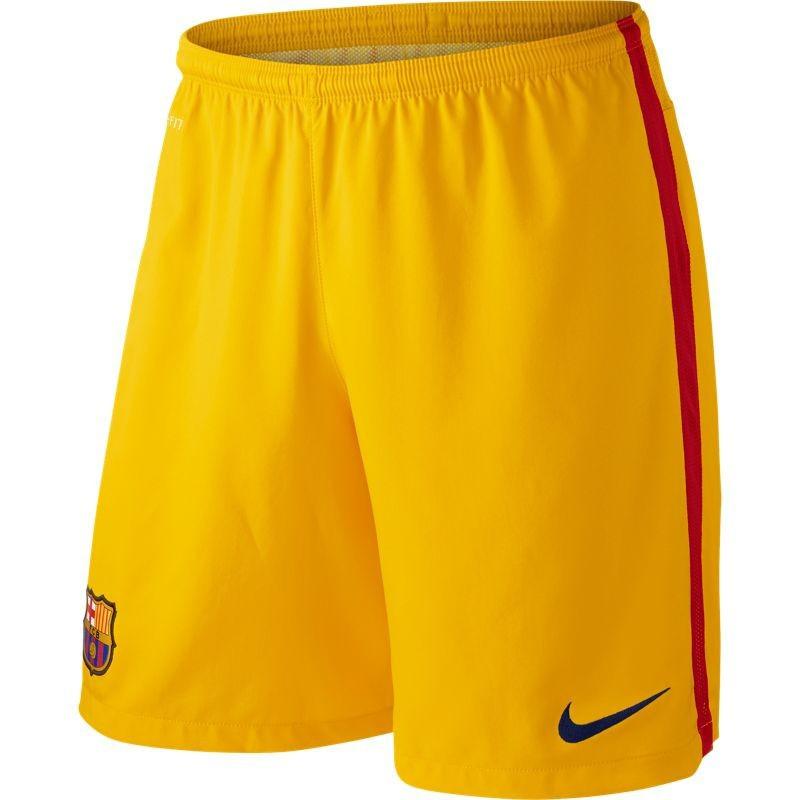 FC Barcelona goalie shorts 2015/16 – yellow