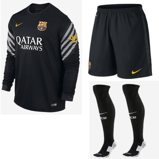 nike fc barcelona goalie away kit 2014 15 adult long sleeve fc barcelona goalie away kit 2015 16 adult