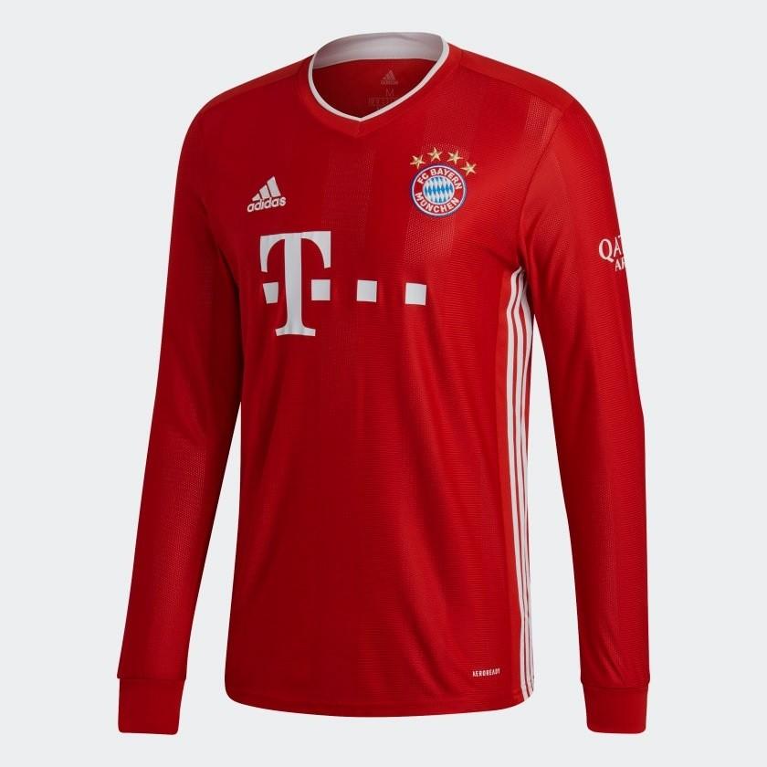 Bayern Munich home jersey Long Sleeve 2020/21