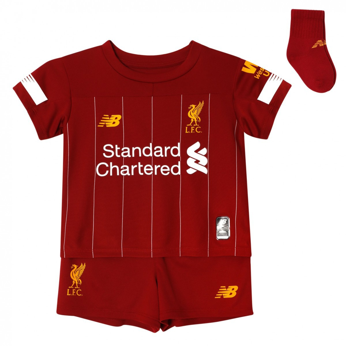 Liverpool home kit - baby size