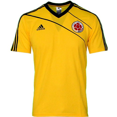 Colombia home jersey stadium World Cup 2014
