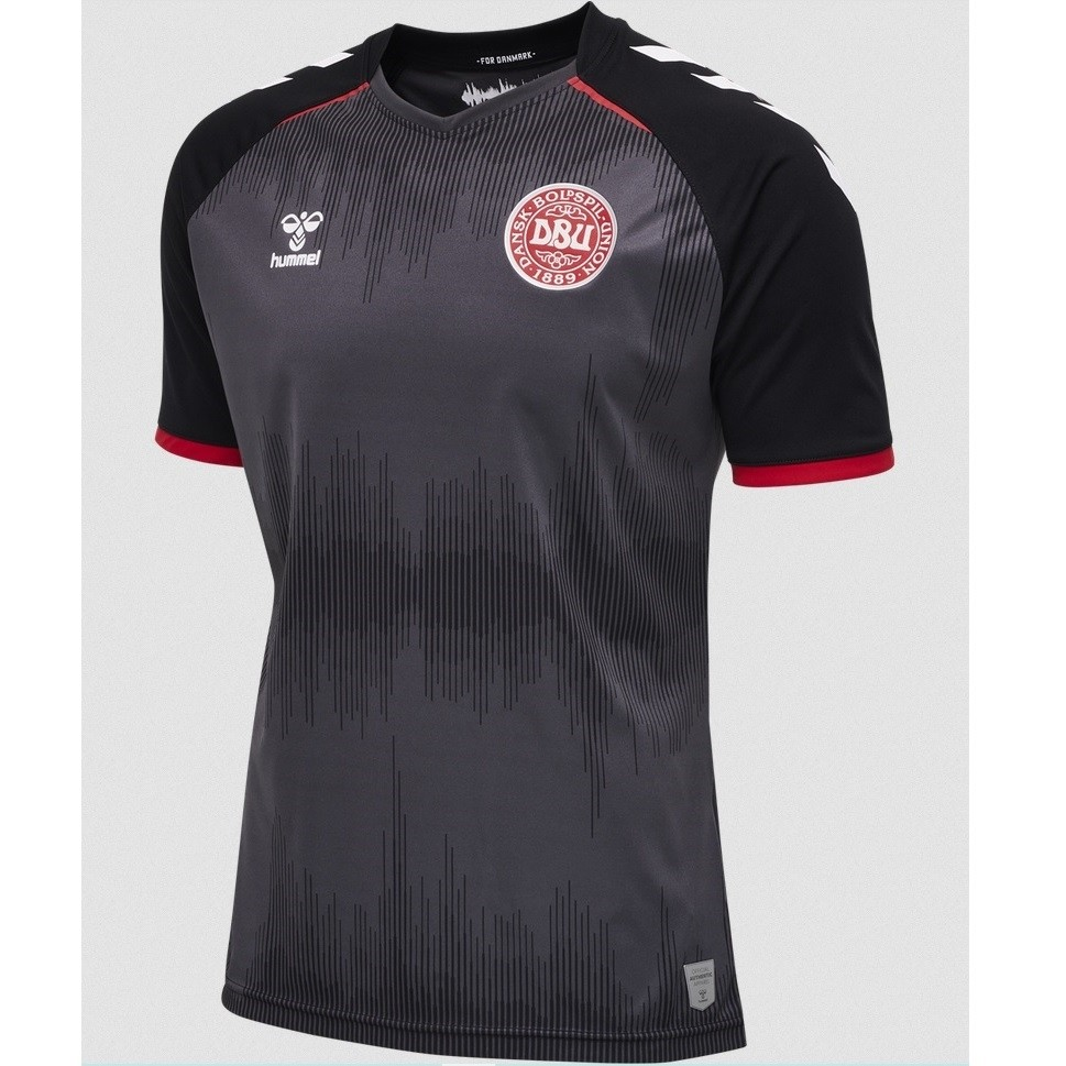 Denmark goalie jersey EURO 2020 - black - boys