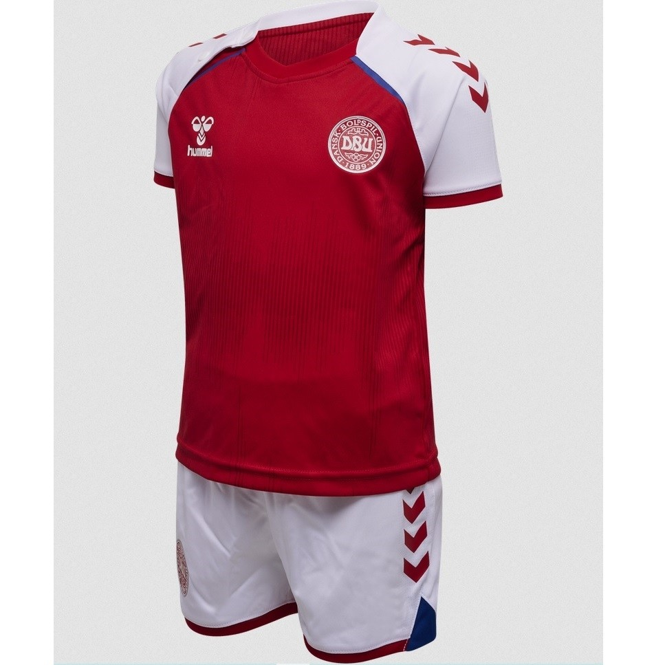 Denmark home kit EURO 2020 - little boys