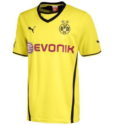 Dortmund home jersey 2013/14