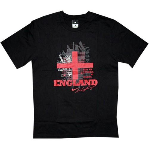 England tee - black - Rooney 10