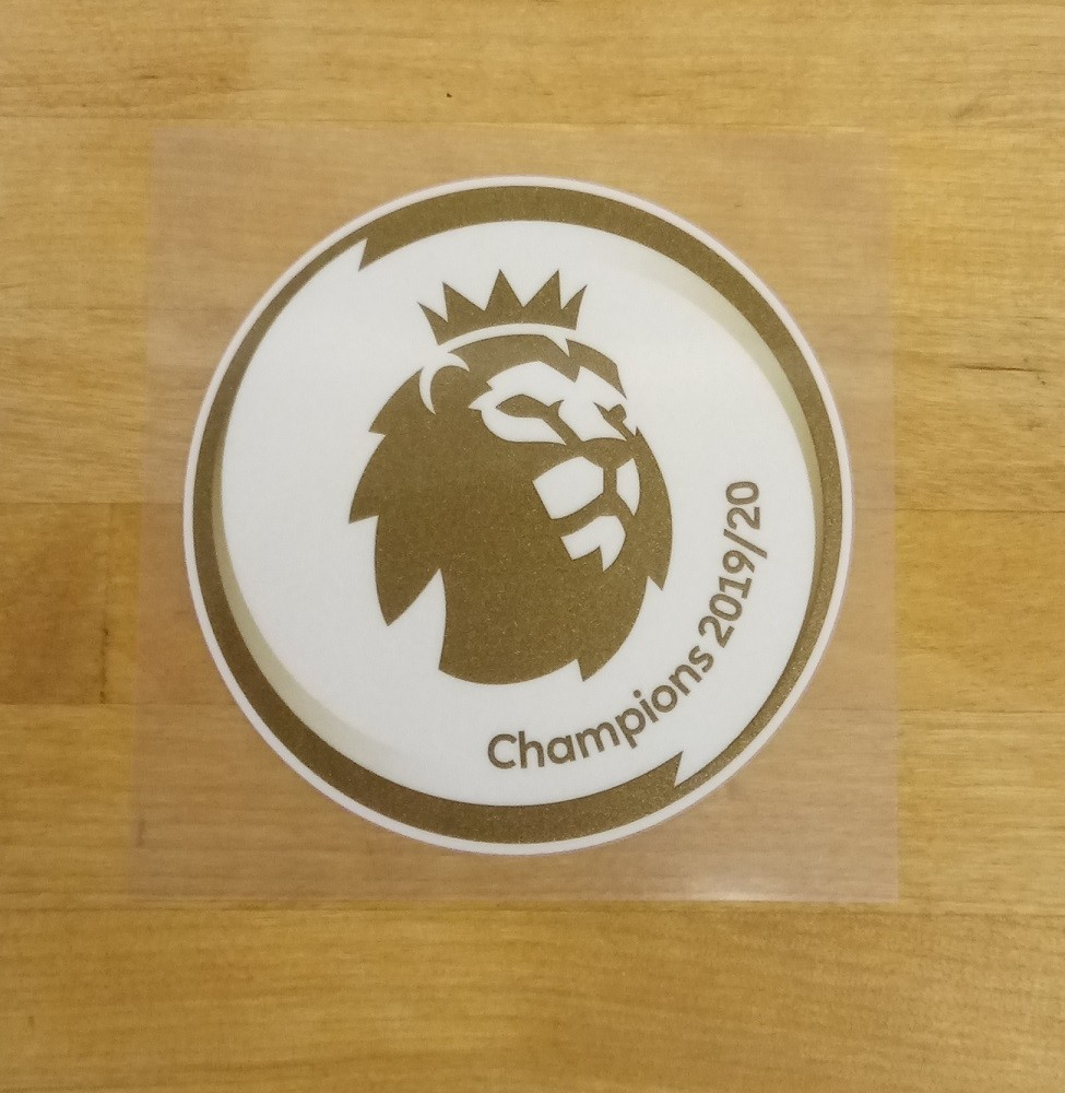 EPL Champions badge 19/20