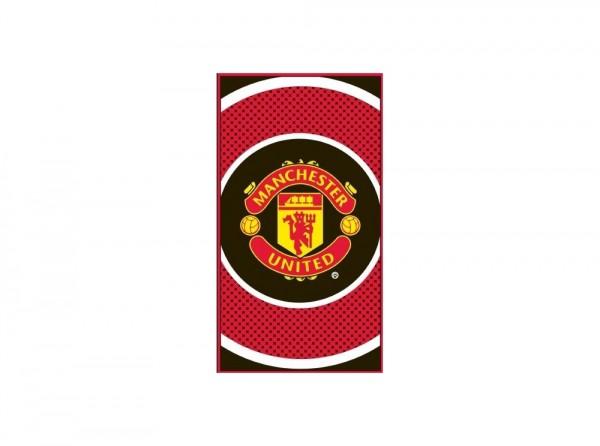 Manchester United towel - bulls eye