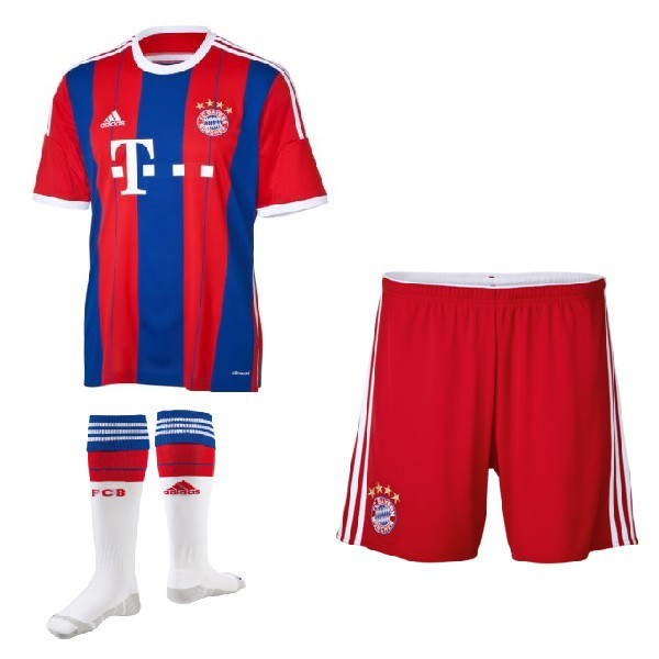 FC Bayern Munich Home Kit 2014/15 - Youth Short Sleeve Jersey ...