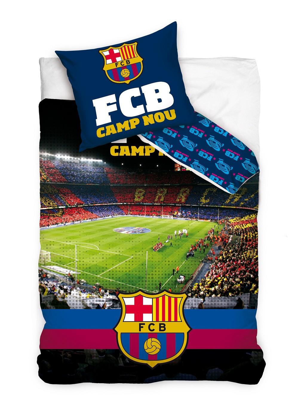 FC BARCELONA DUVET SET CAMP NOU 140X200