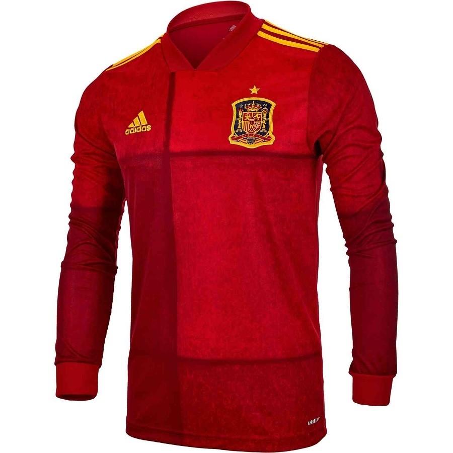 Spain home jersey Long Sleeve