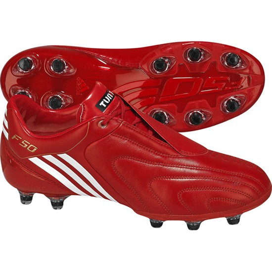 F50 i tunit soccer boots - red