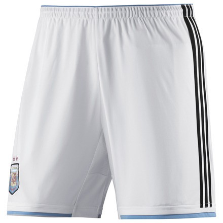Argentina home shorts World Cup 2014 youth