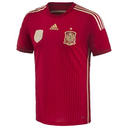Spain home jersey authentic world cup 2014