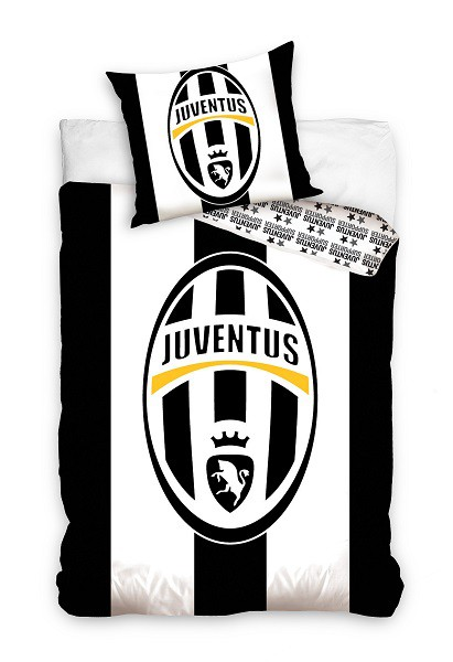 Official Juventus Duvet Set Big Logo