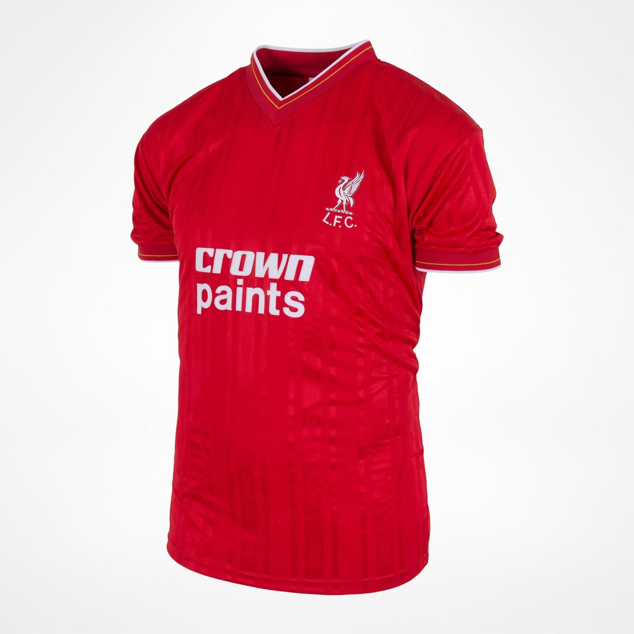 Liverpool home retro shirt 1986