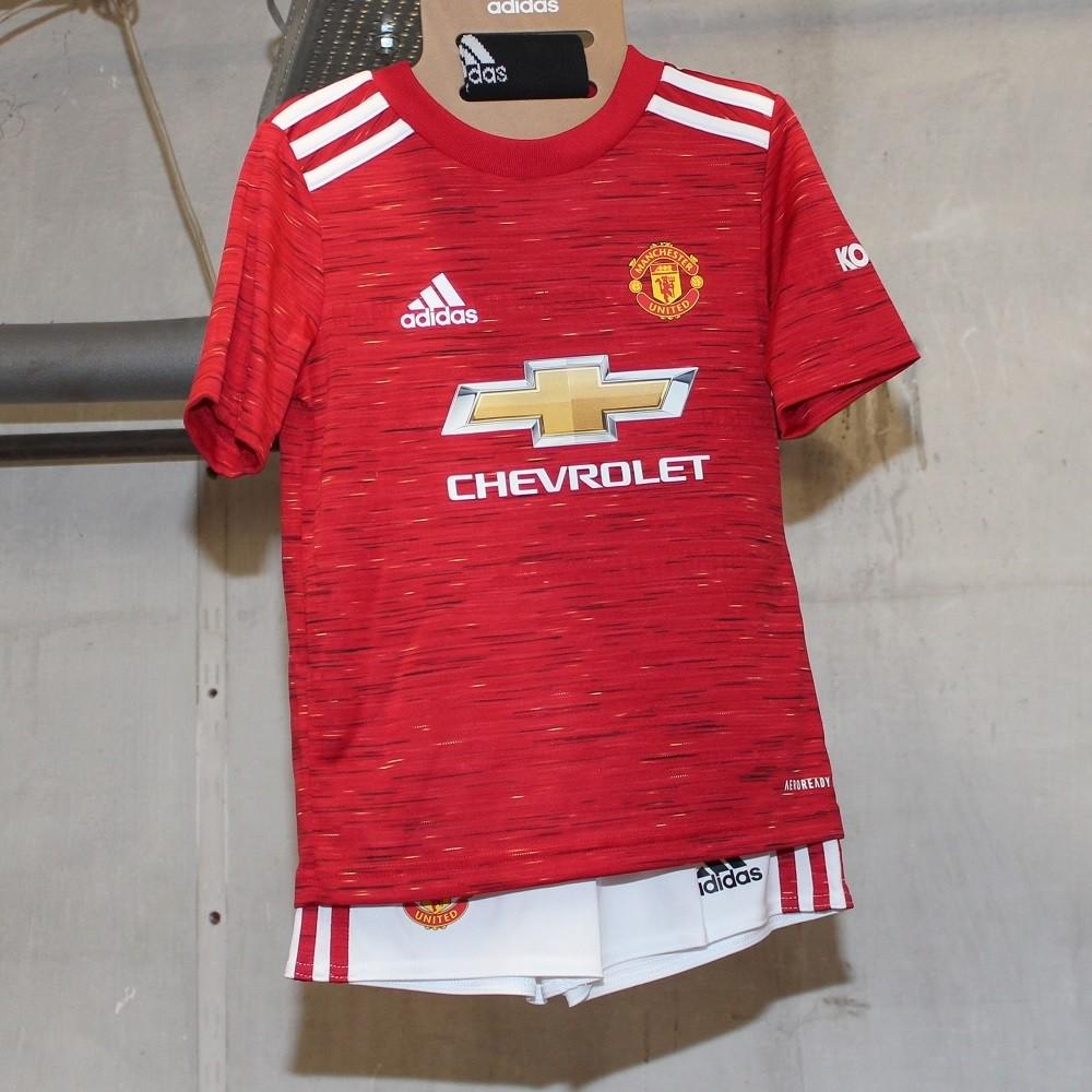 Manchester United Home Mini Kit 2020 21 Little Boys Custom Man Utd Mini Kit Boys And Girls