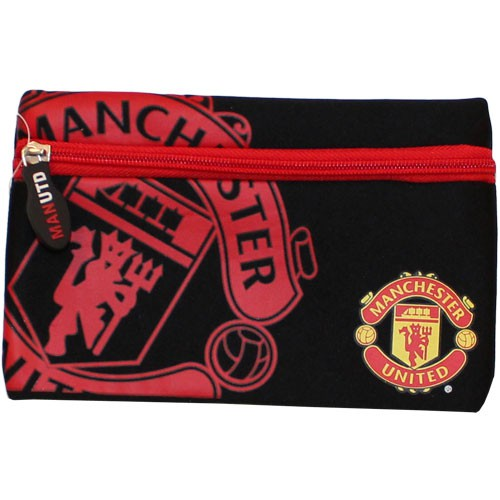 Manchester United pencil case black