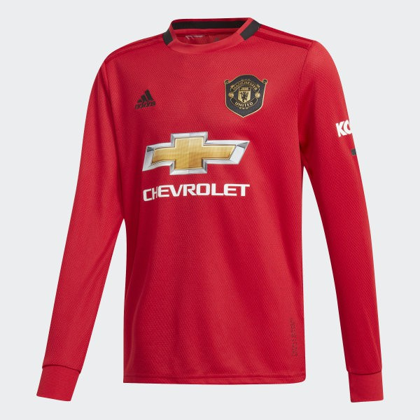 Man Utd home jersey L/S - boys