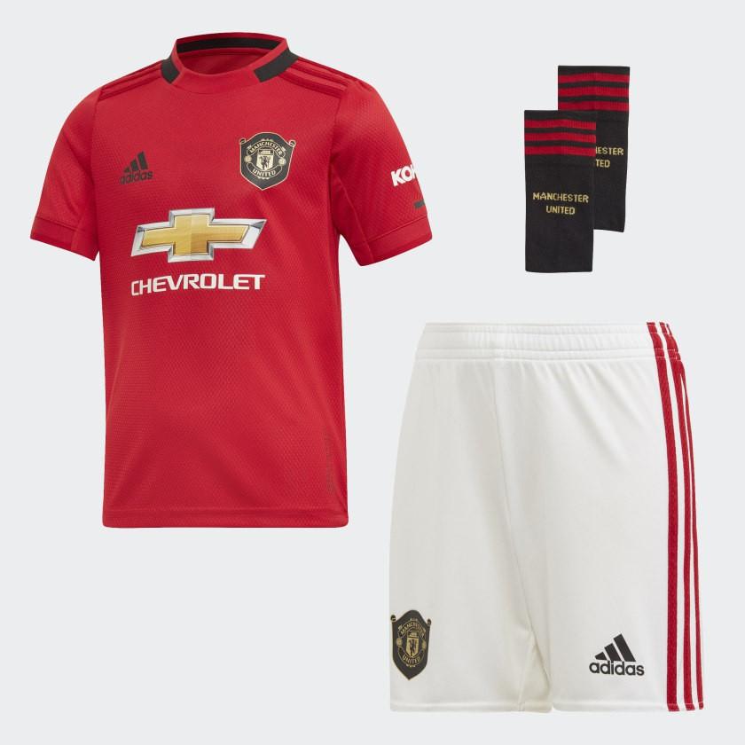 Manchester United home mini kit 2019/20