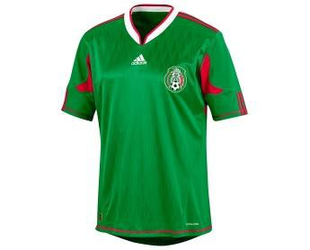 Mexico home jersey 2010
