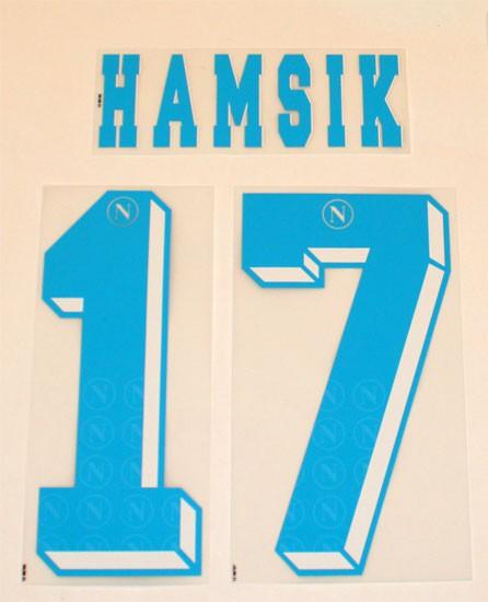 Napoli away print 2012/13 - Hamsik 17