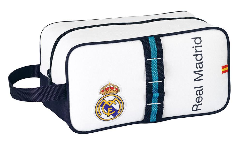 Real Madrid toilet bag - white