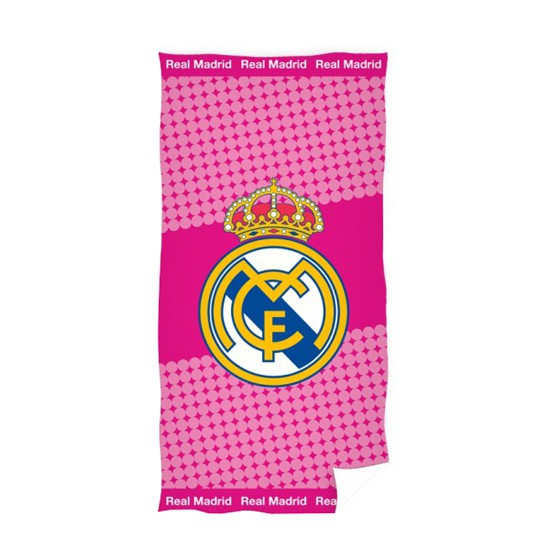 Real Madrid towel pink