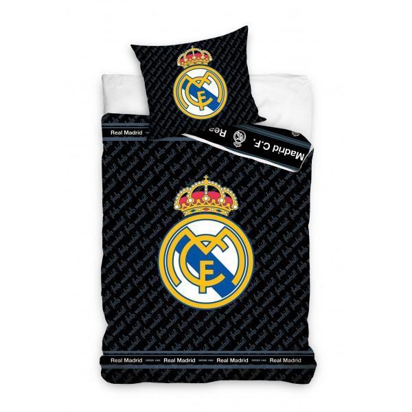 Real Madrid duvet set - black