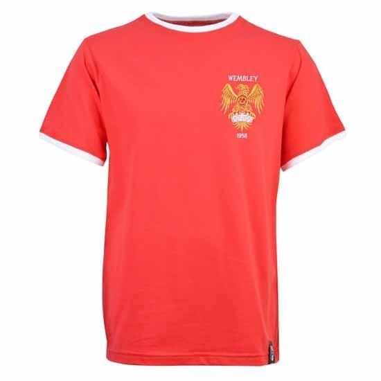 Manchester United 1958 12th Man T-Shirt - Red/White Ringer