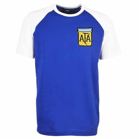Argentina Away Raglan Sleeve Royal/White T-Shirt