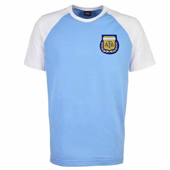 Argentina Raglan Sleeve Sky/White T-Shirt